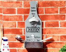 Vintage Amerikanische Land Wandhalterung Holz Bar Pub Cafe Liefern Retro Flaschenöffner Gadget Bier Soda Top Cap Catcher Wand Decor