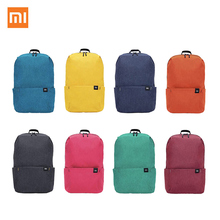 Original Xiaomi Mi Colorful Backpack 10L Bag Small Size Shoulder 8 Colors 165g Weight Leisure Sport Chest Pack For Men Women Bag