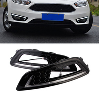 2pcs Set Auto Car LED Day Lights DRL Daytime Running Light Driving Lamp Set For Ford