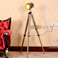 American Nordic Style Wood Lampstand High Quality Floor Lamp Parlor Bedroom Decorative Lighting