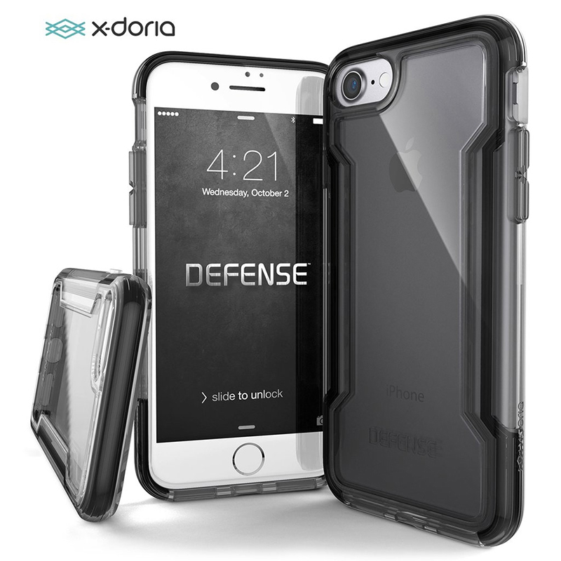 X-Doria Phone Case For IPhone 7 8 Plus Defense Clear Military Grade Drop Tested Protective Case For IPhone 7 8 Transparent Cover