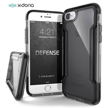 X Doria Phone Case For iPhone 7 8 Plus Defense Clear Military Grade Drop Tested Protective Case For iPhone 7 8 Transparent Cover