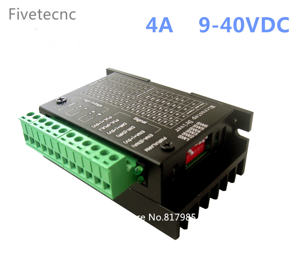 Fast shipping 50pcs TB6600 4A 9-42V Stepper Motor Driver Nema tb6600 Single Axes Hybrid Stepper Motor For cnc