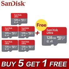 Buy Five Get One Free Sandisk TF Card Micro SD Card 32GB C10 64GB Mini Memory Card 128GB Flash Card 200GB 5+1