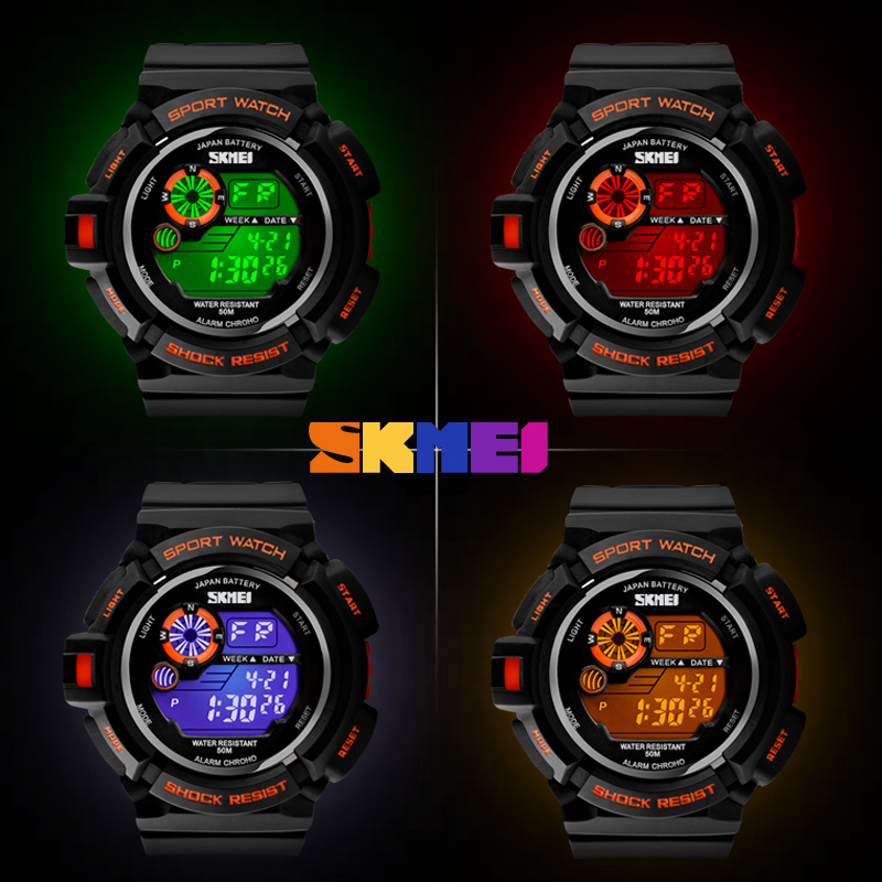 skmei s shock watch instructions
