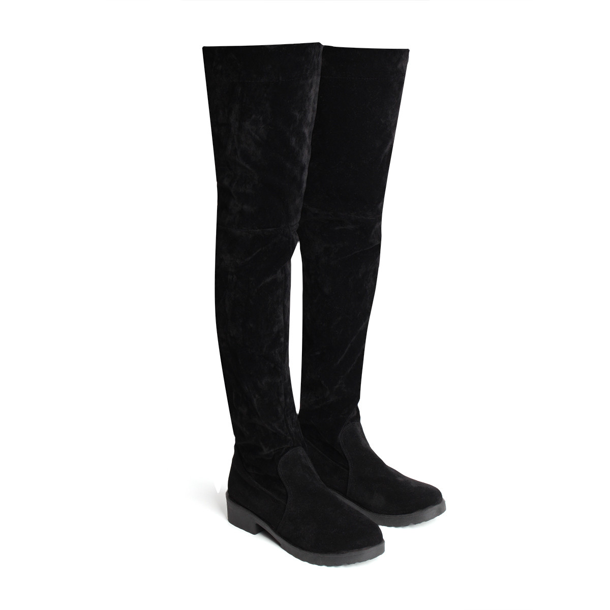 Online Get Cheap Black Thigh High Boots -Aliexpress.com | Alibaba ...