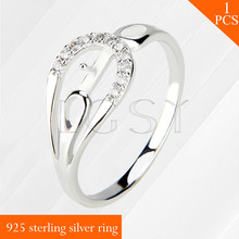 LGSY 925 sterling silver pearls size 6/7/8 shining rings accessories jewelry for women