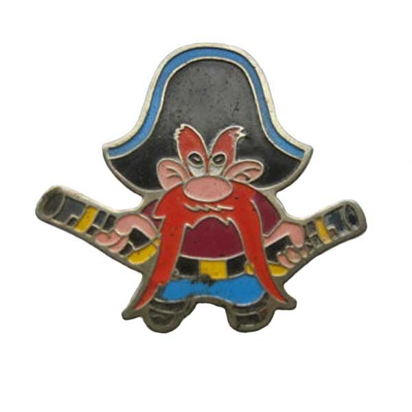 Metal Cartoon Pins Made of Iron Suitable for Promotions with Butterfly Button and Painted and Epoxy Surface Custom and MOQ50pcs