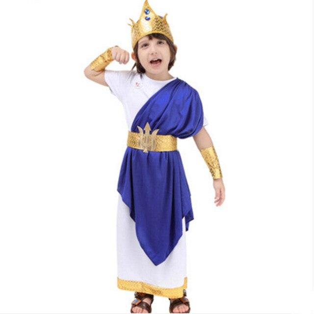 Rey Neptuno disfraces para niños disfraces de halloween para niños  disfraces cosplay ropa de fiesta 7da0dfec2eac