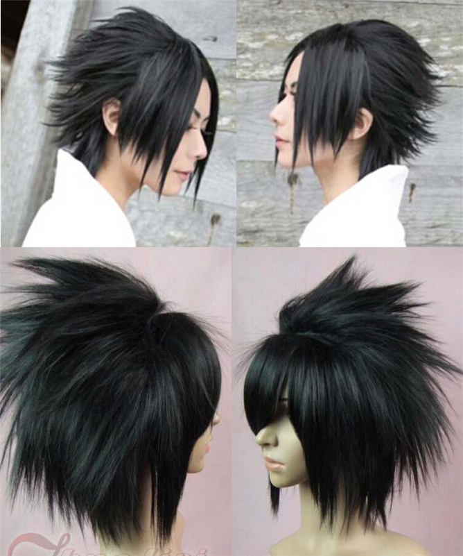 High Quality Death Note L Shaggy Layered Styling Short Black Anime