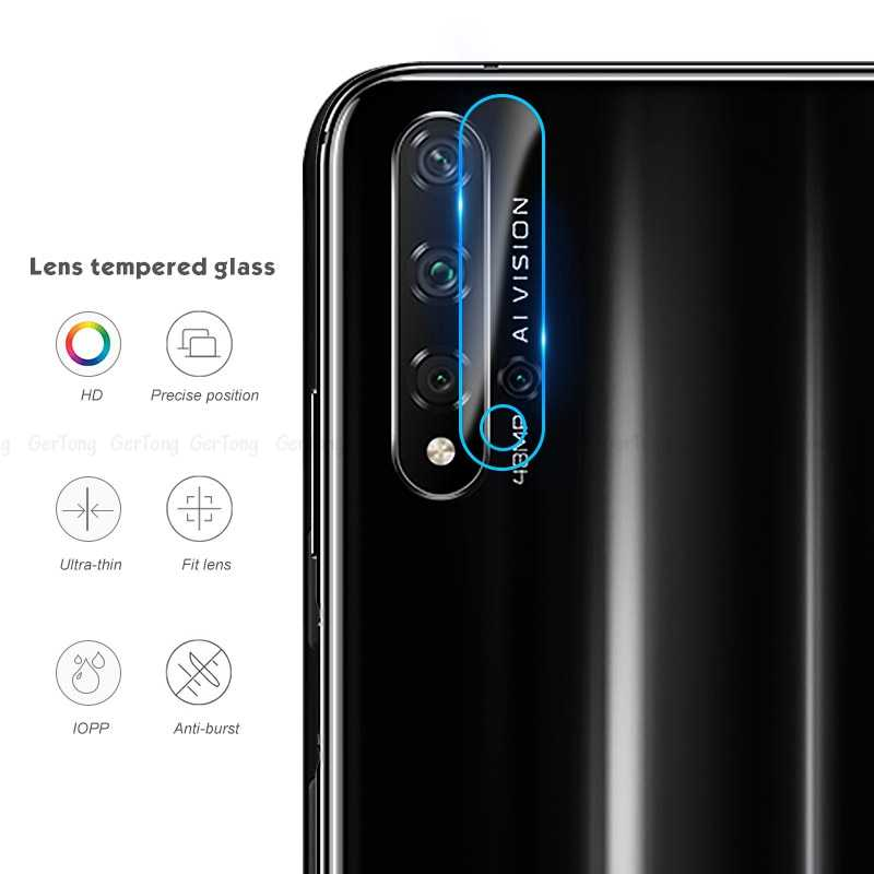 2PCS Tempered Glass For Huawei Honor 20 Y6 Y7 Y9 P20 Lite P Smart 2019 Nova 5 Pro Camera Lens Screen Protector Lens Phone film