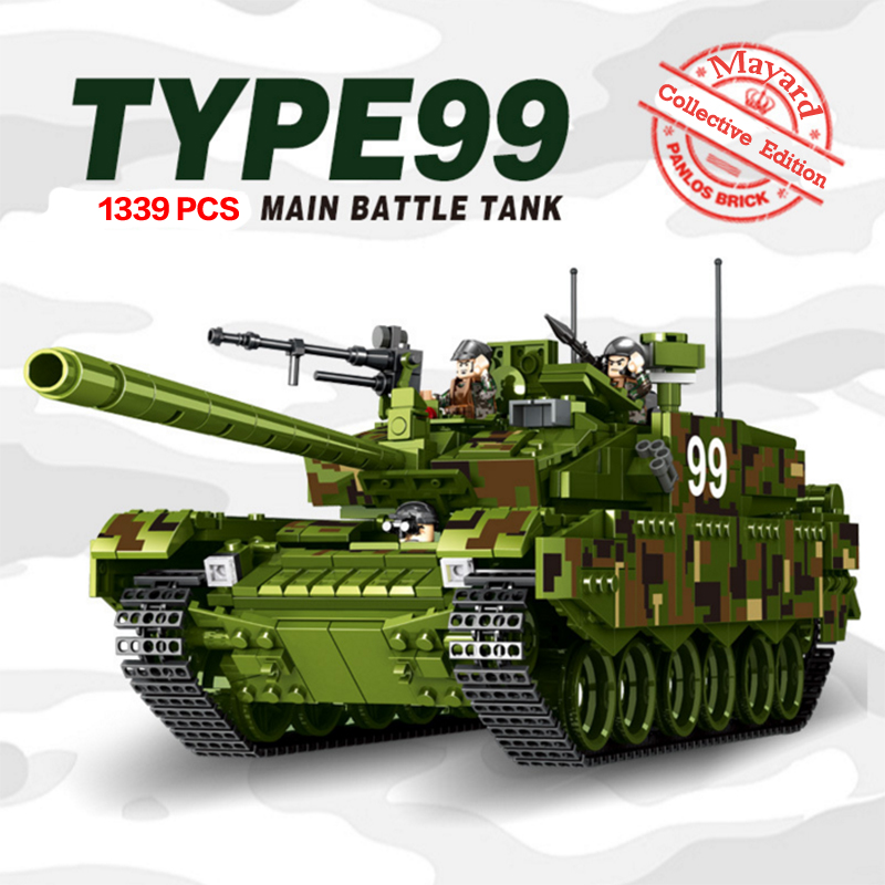 1339PCs Military Tank Model Building Blocks Compatible With LegoINGlys Technic Army WW2 Weapon Set Helicopter Train Toys For Boy kazi 228pcs military ship model building blocks kids toys imitation gun weapon equipment technic designer toys for kid