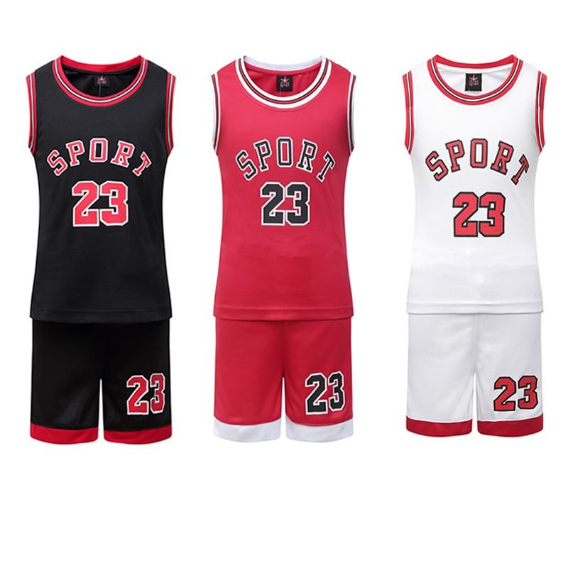 Student Football Uniform Tracksuit Set Baby Sport Jerseys Kids Boys Team Basketball Jersey Suits Soccer Clothes Set Uniform Set telle mère telle fille vetement