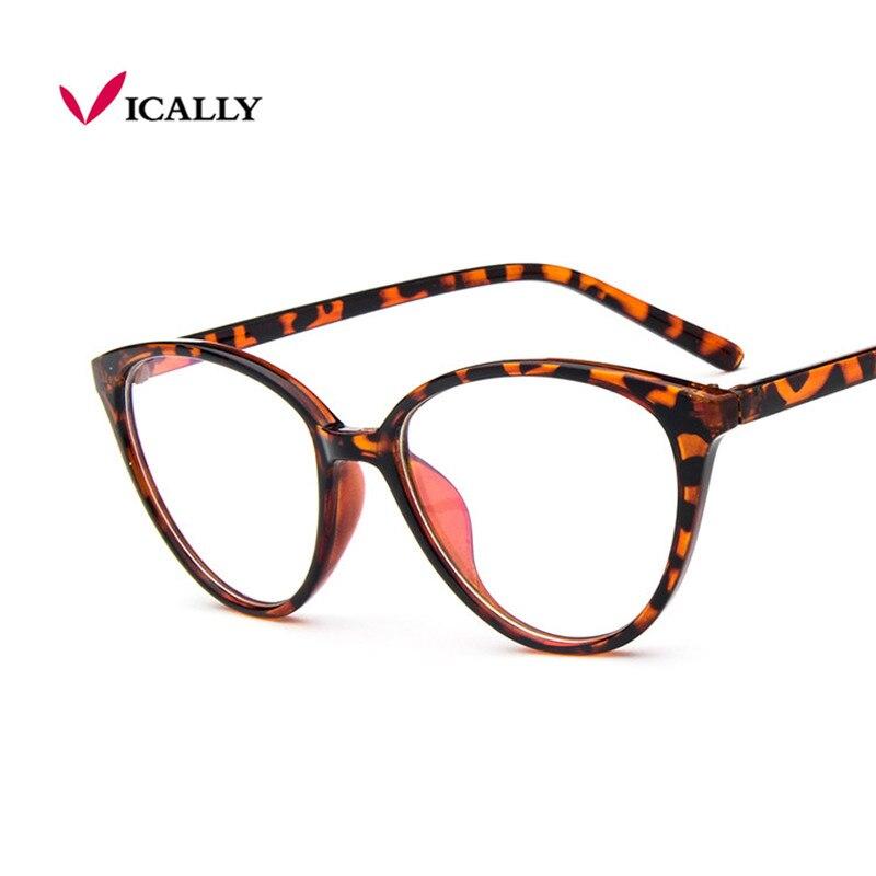 Mode Frauen Cat Eye Brillen Rahmen Männer Optische Glasse Rahmen ...