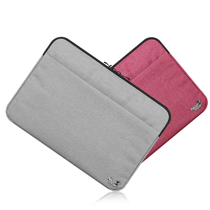 Canvas Sleeve Laptop Bag For Macbook Air 11 12 13 15 Inch Zipper Case - Նոթբուքի պարագաներ - Լուսանկար 2