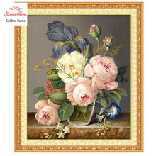 Cross stitch,Needlework,Sets For Embroidery kits,Flowers pictures Patterns DIY DMC Counted Cross-Stitching,home decor crafts