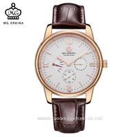 MG.ORKINA 40MM Dial Sapphire Crystal Women Watches All Match Ladies Watch Automatic Sapphire Watch Horloges Vrouwen