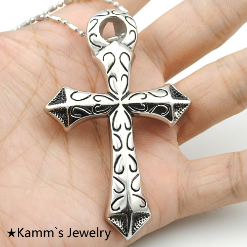 Egyptian Jewelry Quality For Men Gift Pendant Necklace 316L Stainless Steel Free Shipping ankh cross colgante egipcio KP089