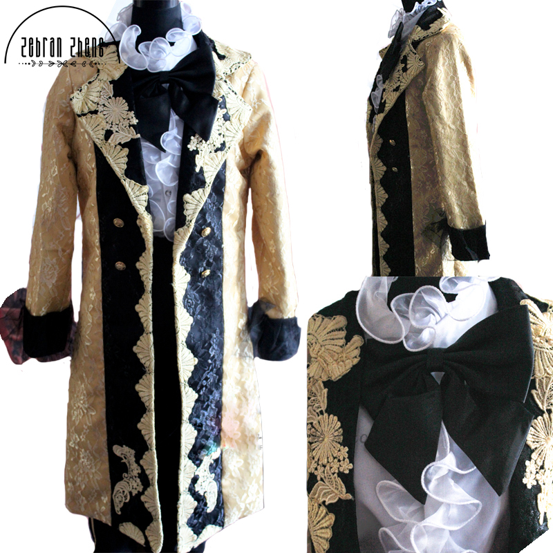 Free Shipping Vocaloid Anime Rin And Len Servant Of Evil Fanart Cosplay Costume For Men