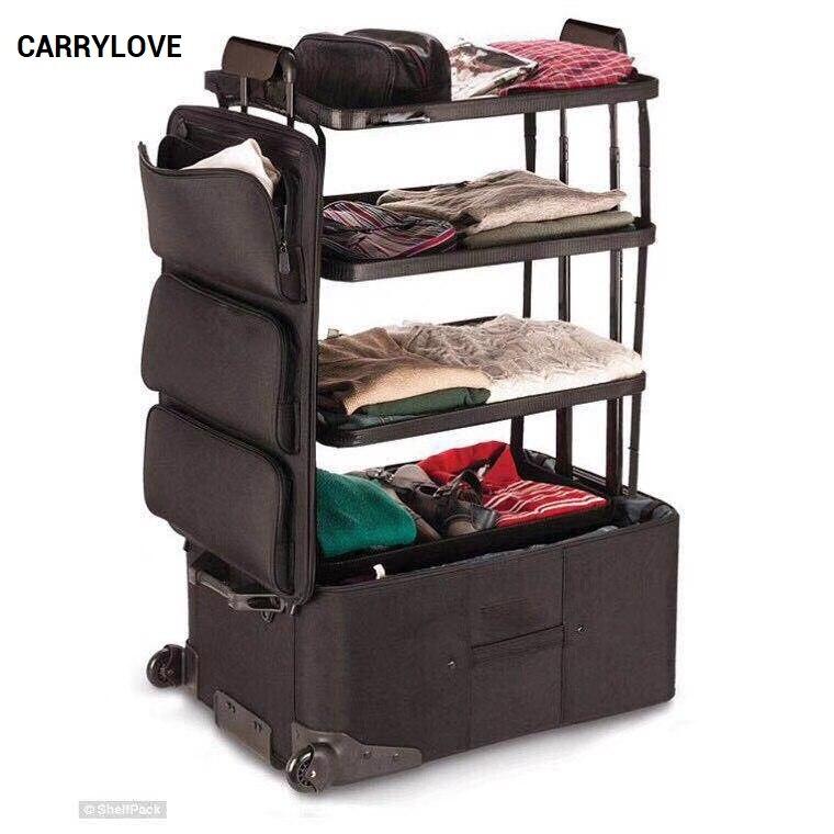 CARRYLOVE la série de bagages long voyage 26 pouces, valise de voyage étanche-in Bagages à roulettes from Baggages et sacs    1