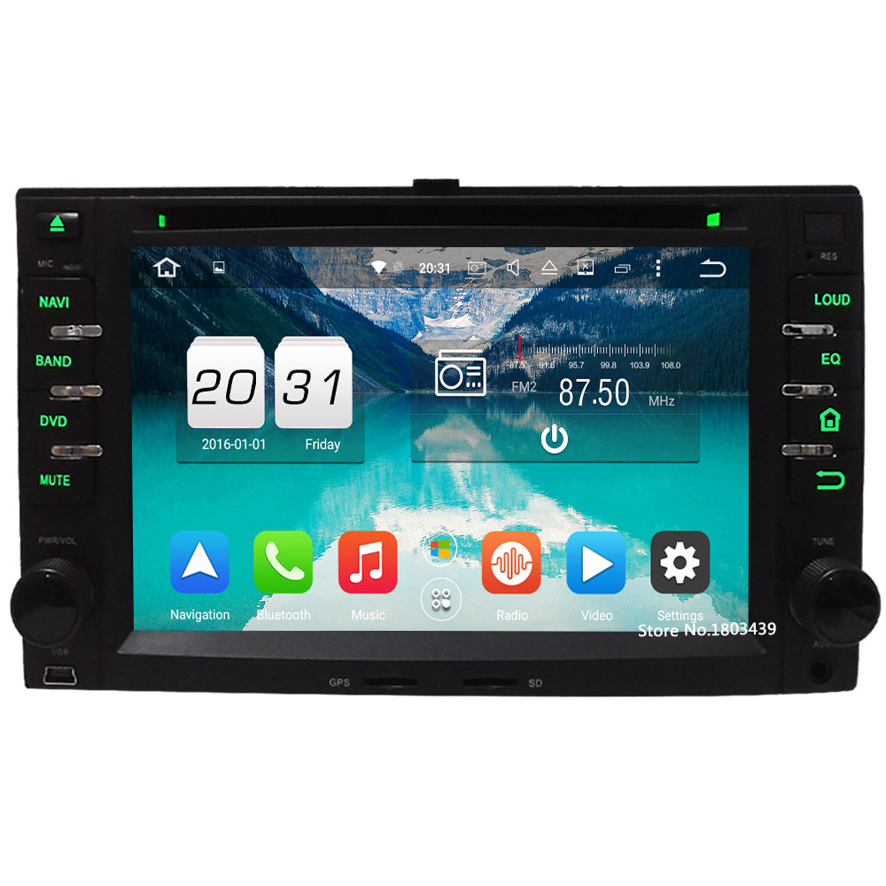 2GB RAM 32GB ROM Octa Core Android 6 4G Car DVD Multimedia Player Radio For Kia