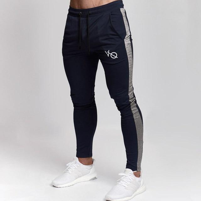 d16e6065ff8d2 Autumn Winter Men Cotton Jogger Sweatpants Man Running Sports Workout  Training Trousers Male Gym Fitness Bodybuilding