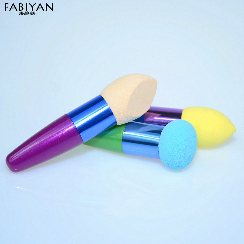 1PCS Make Up Liquid Cream Foundation Concealer Sponge Brush Blender Cosmetic Flawless Smooth Powder Puff Makeup Brushes Tools