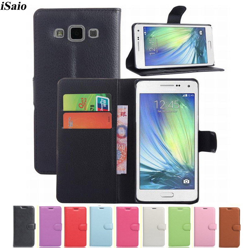 Flip Wallet <font><b>Case</b></font> For <font><b>Samsung</b></font> Galaxy A5 2015 A500 A5000 <font><b>A500fu</b></font> SM-A500F Silicone Leather Cover Protective Phone Coque Capa Fundas image