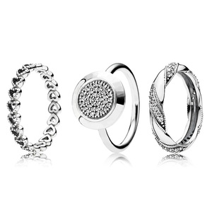 3 Style New 925 Silver Ring Wi