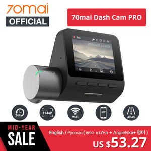 Xiaomi 70mai Dash Cam Wifi Night Vision English Voice Control 24 H Parking Monitor