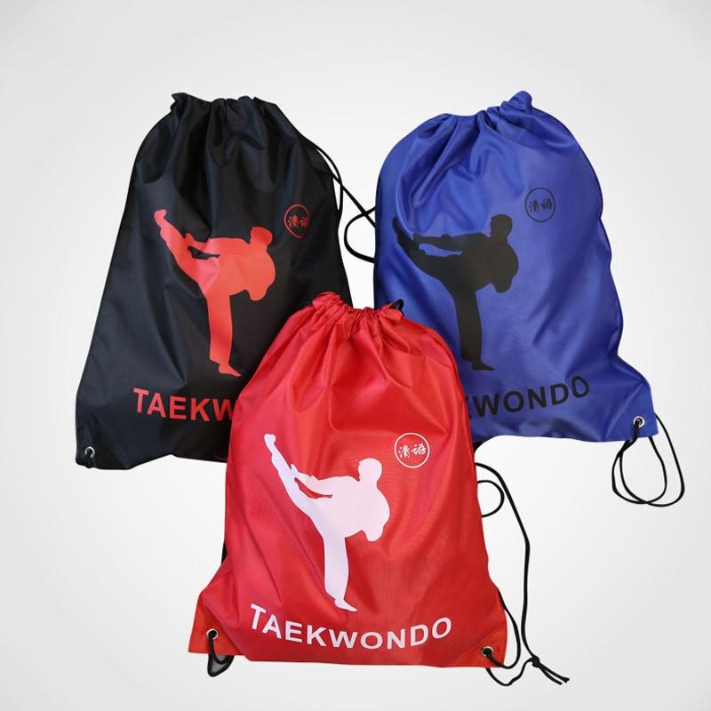 Taekwondo Bags Sport Rope Bag Tae Kwon Do Training Running Light Backpack Unisex Kung Fu Waterproof Soft Travel Gym Sport Bags Beautiful And Charming