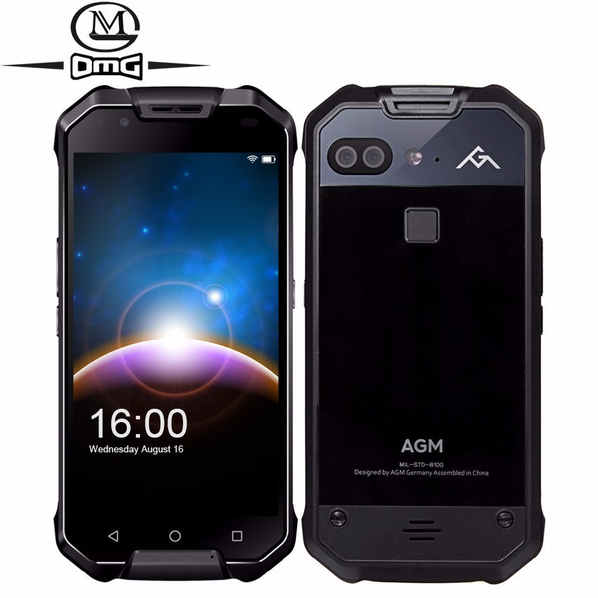 "AGM X2 SE IP68 Waterproof shockproof Mobile Phone 6000mAh 5.5"" Android 7.1 6GB+64GB Qualcomm MSM8976SG Octa Core NFC Smartphone"