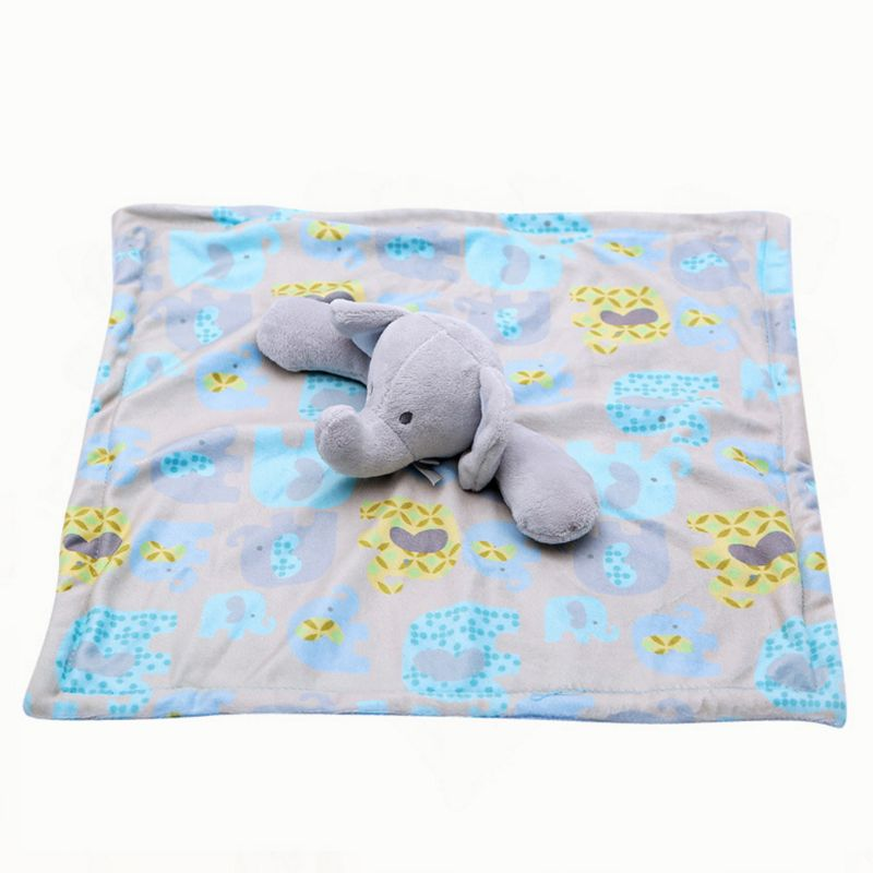 Mother & Kids Baby Pacifier Appease Soothe Towel Cute Cartoon Elephant Soft Plush Nursing Stuffed Doll Infant Teether Sleeping Partner Boys' Baby Clothing