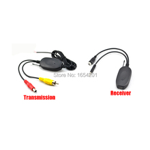 Wireless Transmitter And Receiver For GPS Navigation Navigator Sat Nav To Connect Rear View Reverse Backup Camera