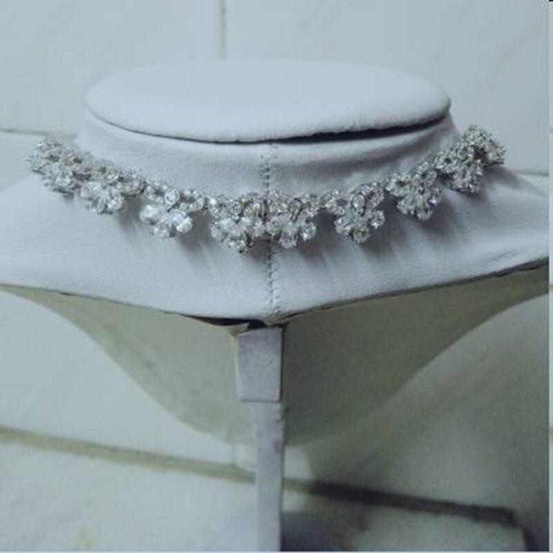 Collares Collier Qi Xuan_Fashion Jewerly_AAA голубой камень Necklaces_S925 твердый Серебряный шейный платок производитель прямые продажи