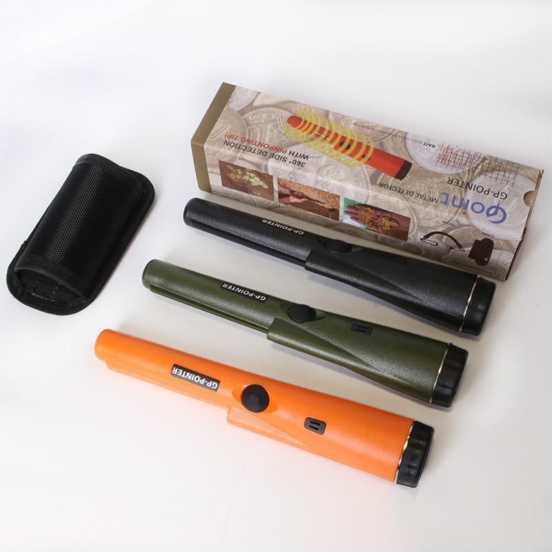 Metal Detector Pointer Pinpointing Cover GP-POINTER Hand Held Metal Detector Black Orange Green color цены онлайн