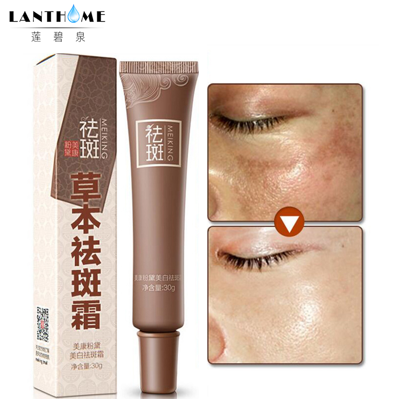 1pcs Freckles Melasma Cream 15ml Dark Spot Corrector Remove Warts Fade Cream Removal Black Spots Moles Serum Reduces Age Spots