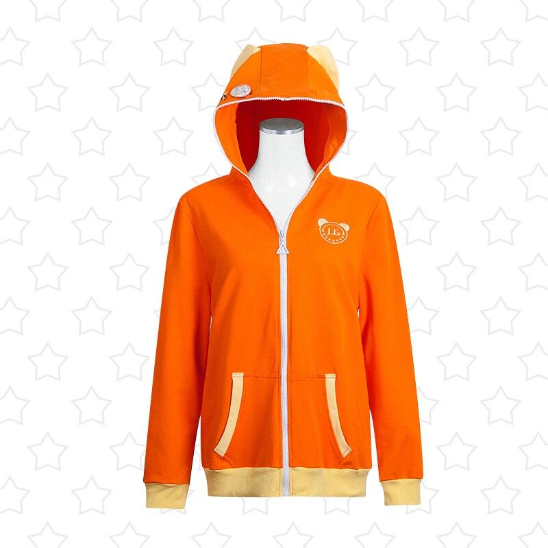 LoveLive! Kousaka Honoka Hoodie Cosplay Costumes Jacket Love Live u's SIF School Idol Festival Cardigan Unisex Sport Suit