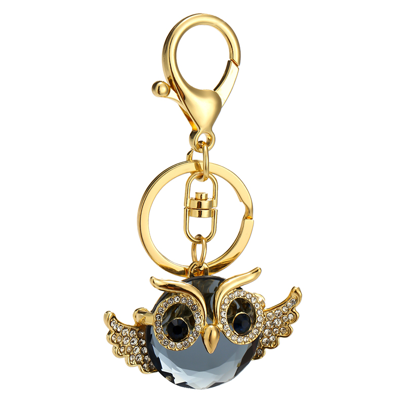 Detail Feedback Questions about Bag Pendant Diamante Night Owl Crystal Bird Diamond  encrusted Gift KeyChain For Women Wallet Handbag Schoolbag Cute ... 5c9783b1ba76