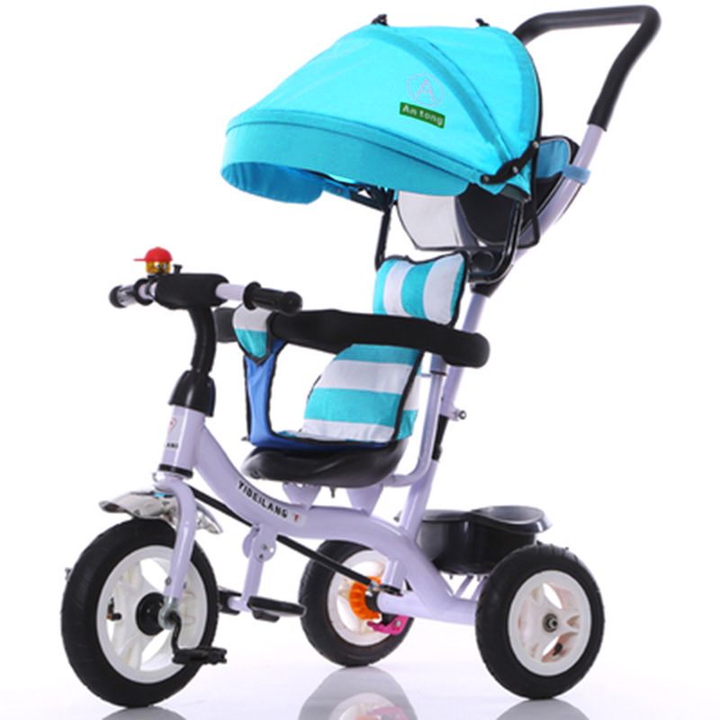 Hot Selling 3 Wheel Baby Stroller Tricycles for Children Pram Umbrella Luxury Strollers Tricycle Bicycle Baby Carriage  цены