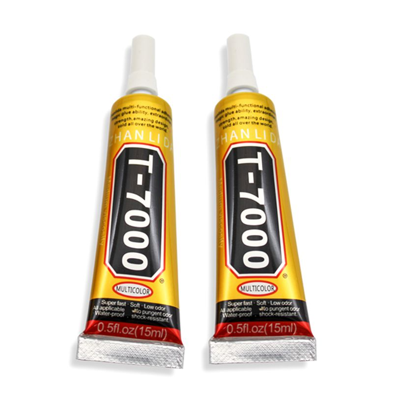 15ml T7000 black liquid glue T-7000 more powerful new epoxy resin adhesive super sealant handset touch screen rack maintenance zhanlida t 7000 50ml epoxy resin black glue repair crack lampshade move the door shoes multi purpose t7000 glue gun page 6