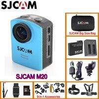 Original SJCAM M20 Gyro Mini Action Helmet Sports DV Camera 30M Waterproof With Remote Control 2pcs