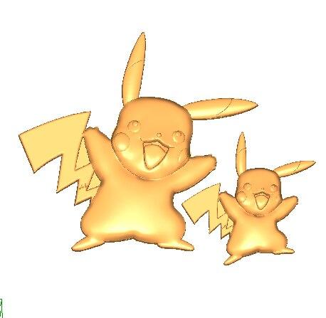 Luyou DIY pastel decoración herramientas para hornear dos dibujo de Pikachu mago chocolate para fondant de silicona molde de encaje FM1217 55 cavidades de silicona Mini granos de café Chocolate azúcar molde para caramelos pastel de decoración herramientas de decoración moldes de silicona de chocolate
