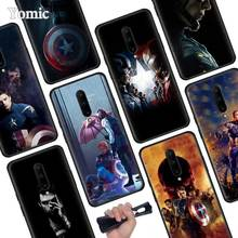 Bucky Barnes Black Soft Case for Oneplus 7 Pro 7 6T 6 Silicone TPU Phone Cases Cover Coque Shell