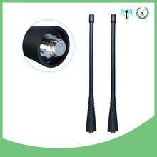 2 قطعة اسلكية تخاطب هوائي UHF 400 470Mhz متوافق لموتورولا NAE6483 GP300 GP340 GP360 GP380 CP200 CP200D HT1250 EP450