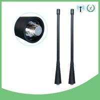 אנטנה עבור 2pcs מכשיר הקשר אנטנה UHF 400-470Mhz תואם עבור מוטורולה NAE6483 GP300 GP340 GP360 GP380 CP200 CP200D HT1250 EP450 (1)