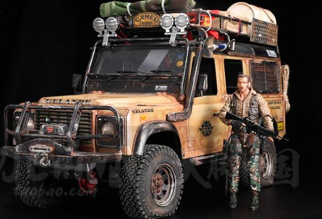 18 cm Neve Guerreiro de Ferro Para 1/10 Rocha Cralwer Traxxas Caminhão scx10 axial ax90047 90046 Cherokee TRX4 CAPO JKMAX CRUZ RC RCW4D KM