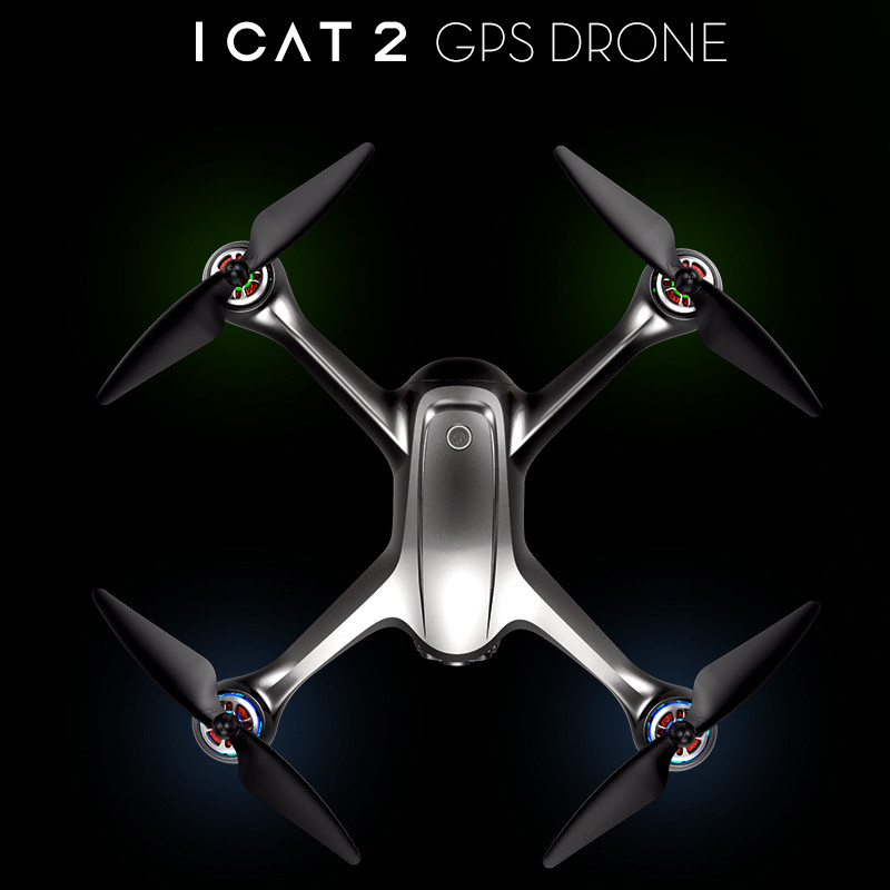 ICAT2 Double GPS Drone with 1080P Camera HD FPV Helicopter Brushless Motor 20 Mins Selfie Dron Professional Follow Me QuadcopterICAT2 Double GPS Drone with 1080P Camera HD FPV Helicopter Brushless Motor 20 Mins Selfie Dron Professional Follow Me Quadcopter