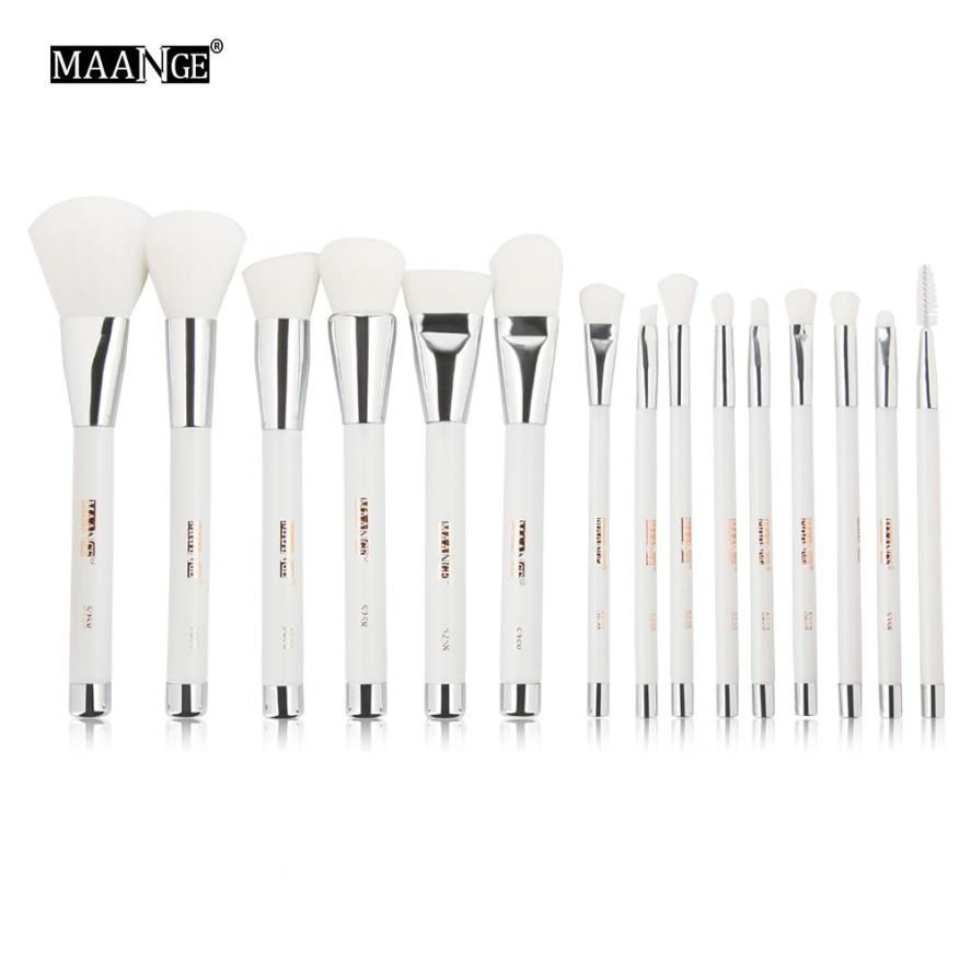 2017 New  15PCS  Make Up Foundation Eyebrow Eyeliner Blush Cosmetic Concealer Brushes drop shipping oct26 2017 new 24pcs mini make up foundation eyebrow eyeliner blush cosmetic concealer brushes beauty drop shipping sep25