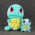 2Pcs/Lot 16cm /42cm Poke Squirtle Plush Toy Baby Toy Poke Plush Figure Collectible Doll Anime Manga kids toy Gift Free Shipping